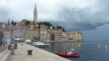 Blick auf Rijeka