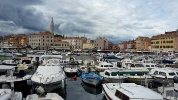 Der Hafen von Rijeka
