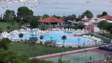 Rabac - Der Pool unseres Hotels