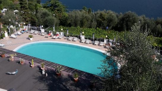 Der Pool von unserem Hotel