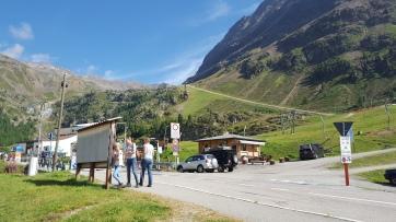 Schnalstal - Ankunft auf dem Plateau