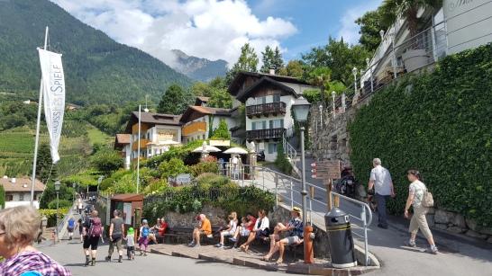Dorf Tirol - Beliebter Aussichtspunkt
