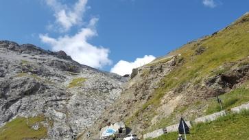 Stilfser Joch - Gipfel in Sichtweite
