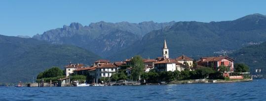 Der Lago Maggiore.