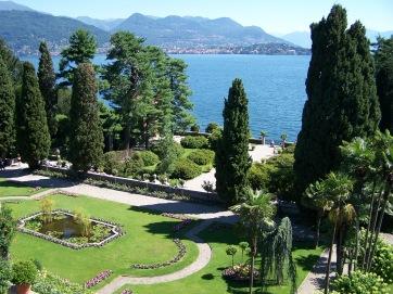 Auf der Insel Isola Bella am Lago Maggiore.