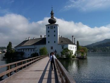 Das Schloßhotel Orth in Gmunden.