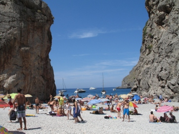 Sa Calobra, Blick zum Strand