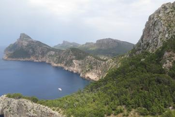 Kap Formentor, Blick Richtung Leuchtturm