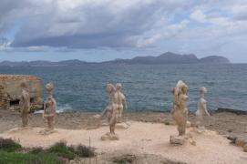 Can Picafort, Kunst neben dem Strand