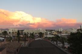 Can Picafort, Sonnenuntergang vom Hotel