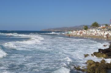 Der Strand von Malia.