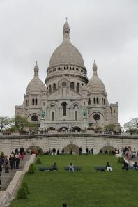 Die Basilika Sacre-Coeur