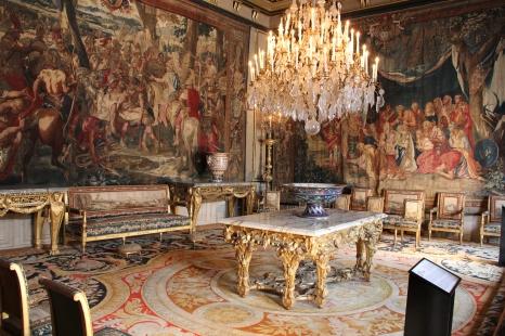 Im Schloss Fontainebleau