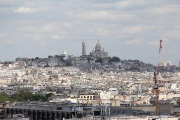 Auf demTriumphbogen: Blick nach Sacre-Coeur