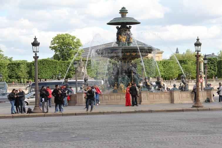 Der Place de la Concorde
