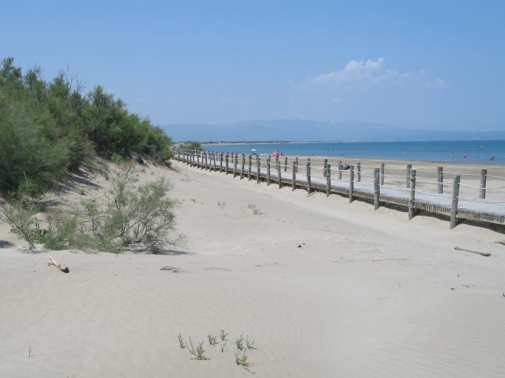 Ein einsamer Strand an der Costa Daurada