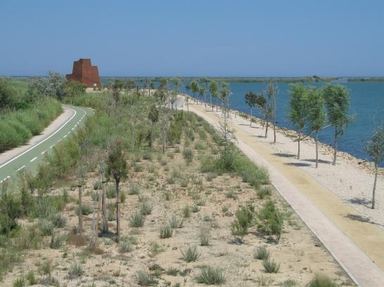 Ein Wanderrevier im Ebrodelta