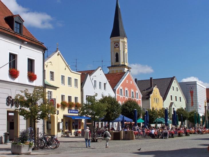 Im Zentrum von Kehlheim.