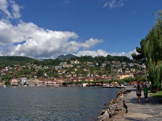 Die Uferpromenade von Ascona.