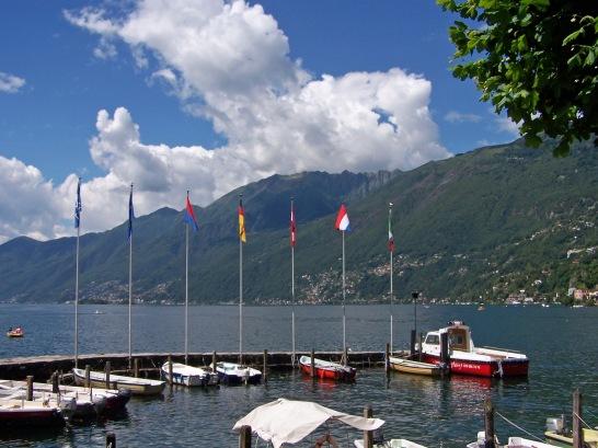 Kleiner Jachthafen von Ascona.