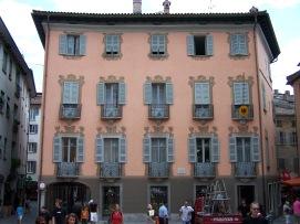 Die deutsche Botschaft in Locarno.