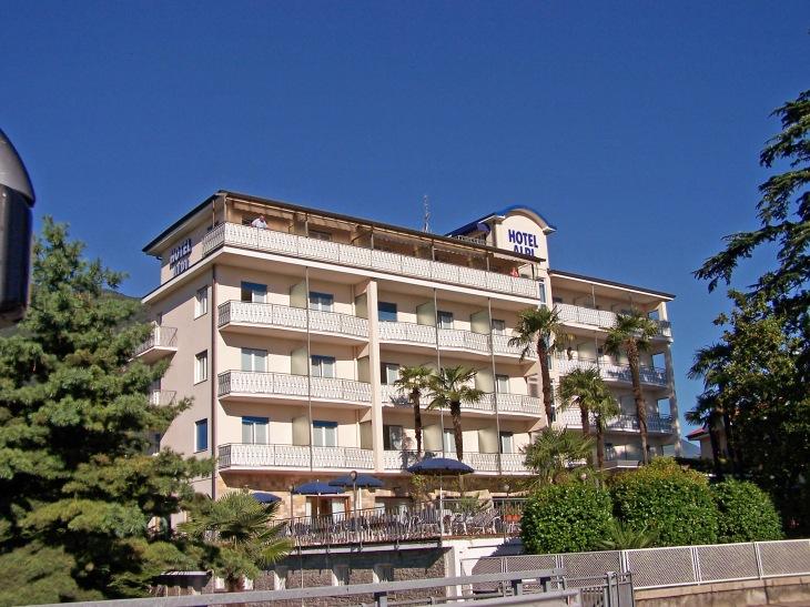 Hotel Alpi in Baveno.