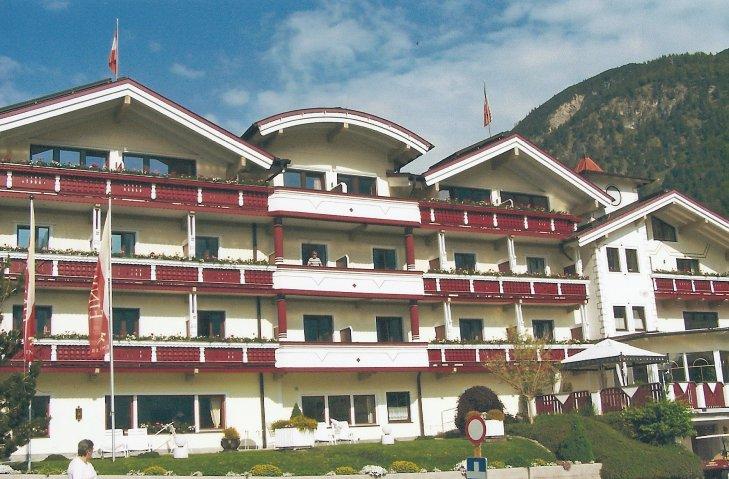 Das Hotel Einweiler in Pertisau.