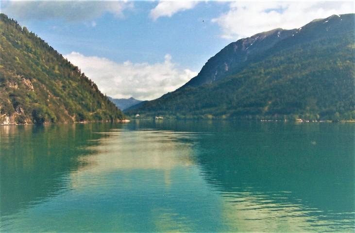 Der imposante Achensee.