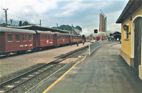 Mit der Achenseeer Dampf-Zahnradbahn nach Mayrhofen..
