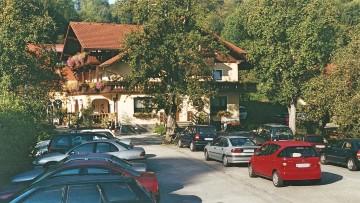Das Landhotel Waldmühle in St. Georgen.