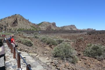 Die Felsformation El Roque.