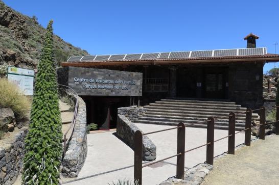 Der Nationalpark Las Canadas - Infozentrum El Portillo.