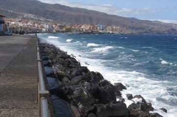 Die Gemeinde Candelaria im Osten der Insel.