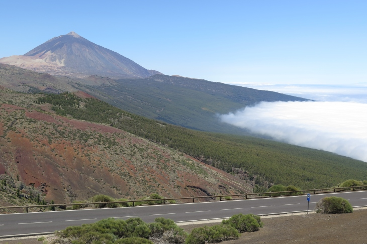 Der berühmte Teide.