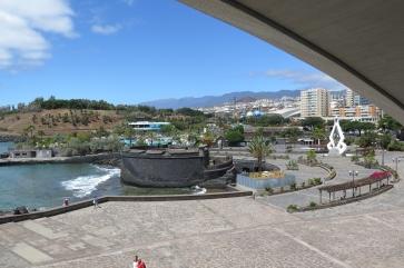 Santa Cruz - Stadtansicht (vom Autitorium aus).