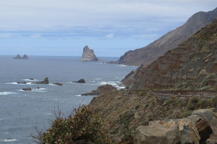 Das Anaga-Gebirge bei Taganana.