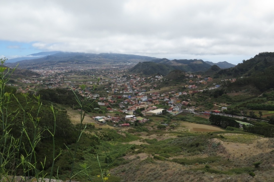 Das Anaga-Gebirge - Blick auf La Laguna.