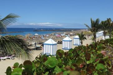 Am Strand Playa del Duque.