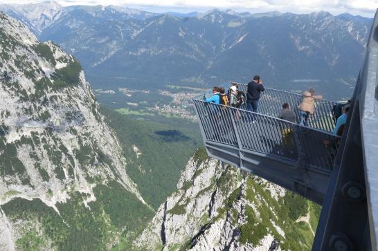 Auf der Alpspitz.