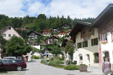 Der Nachbarort Mittenwald.