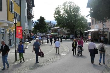 Im Zentrum von Garmisch-Partenkirchen.
