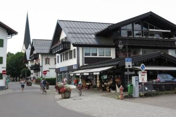 Der Ort Fischen in der Nähe von Obersdorf.
