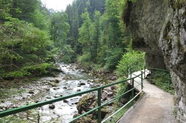 Die Breitachklamm bei Oberstdorf.