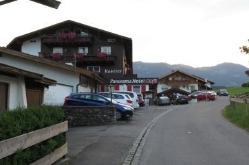 Das Panorama-Hotel in Fischen bei Obersdorf.
