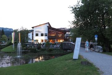 Das Kulturhaus in Fischen bei Obersdorf.